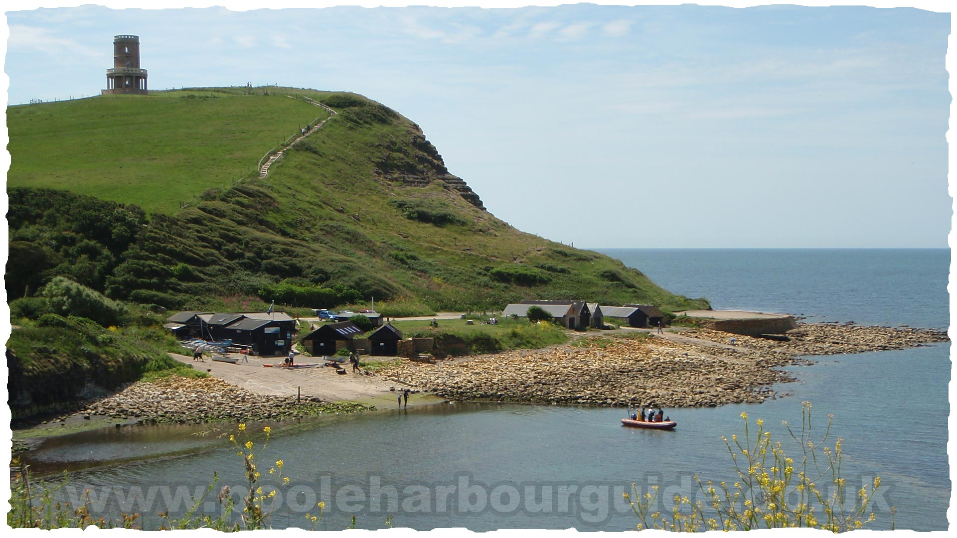 Poole Harbour Tides >> Kimmeridge Bay - visitors guide