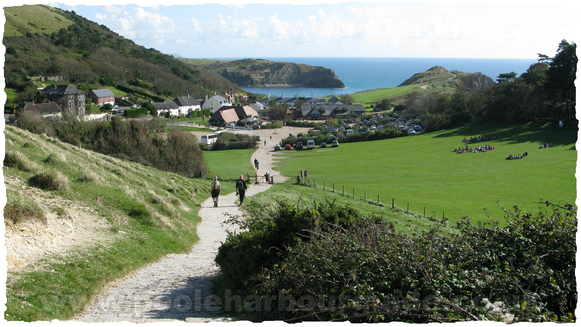 Poole Harbour Tides >> Purbeck Walks Lulworth to Durdle Door