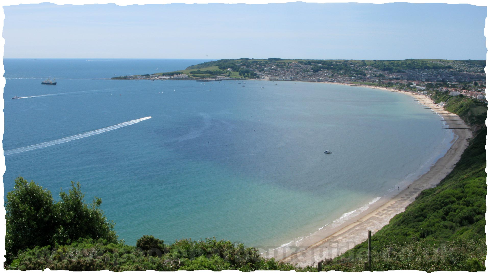 Swanage on Landforms For Kids Activities