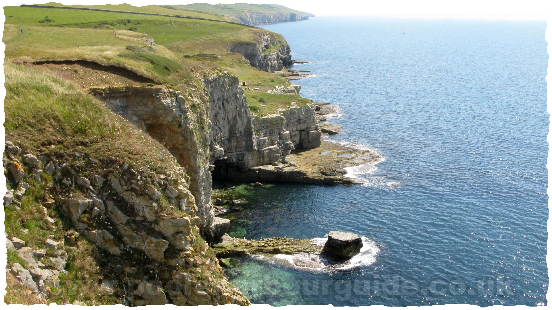 Poole Harbour Tides >> Purbeck Walks Worth Matravers Seacombe Winspit